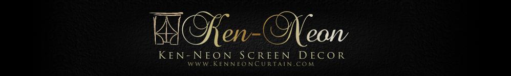 Ken-Neon Screen Decor