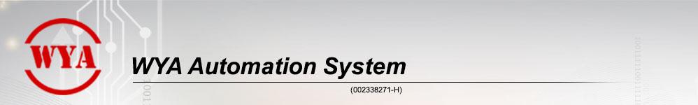 WYA AUTOMATION SYSTEM