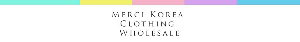 Merci Korea Clothing Wholesale