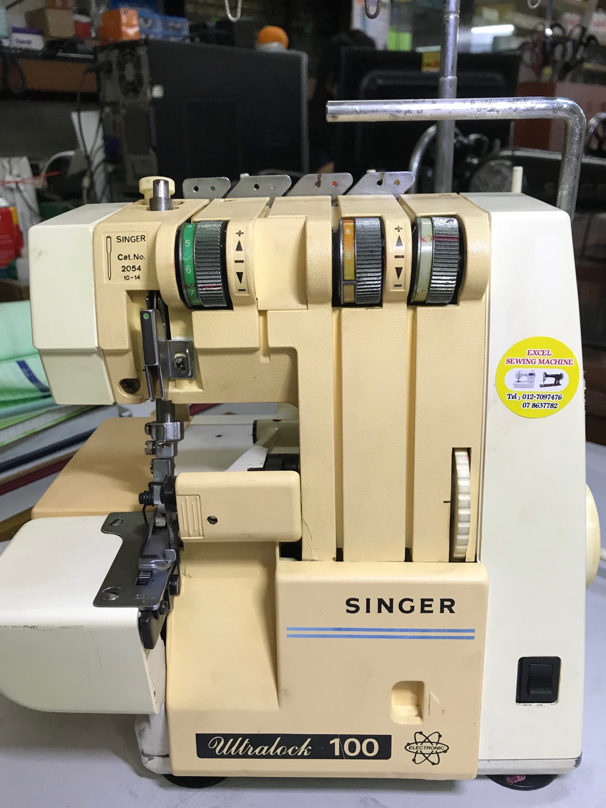 Second Hand Singer Portable Overlock Sewing Machine