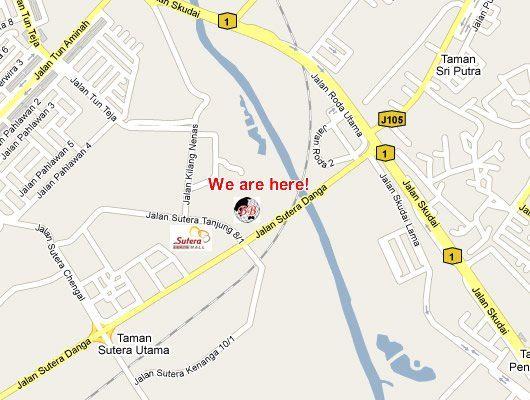 We move to Taman Sutera Utama!