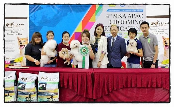 4th APAC FCI International Grooming Certification 2017 ÿһ�춼�����㽱��