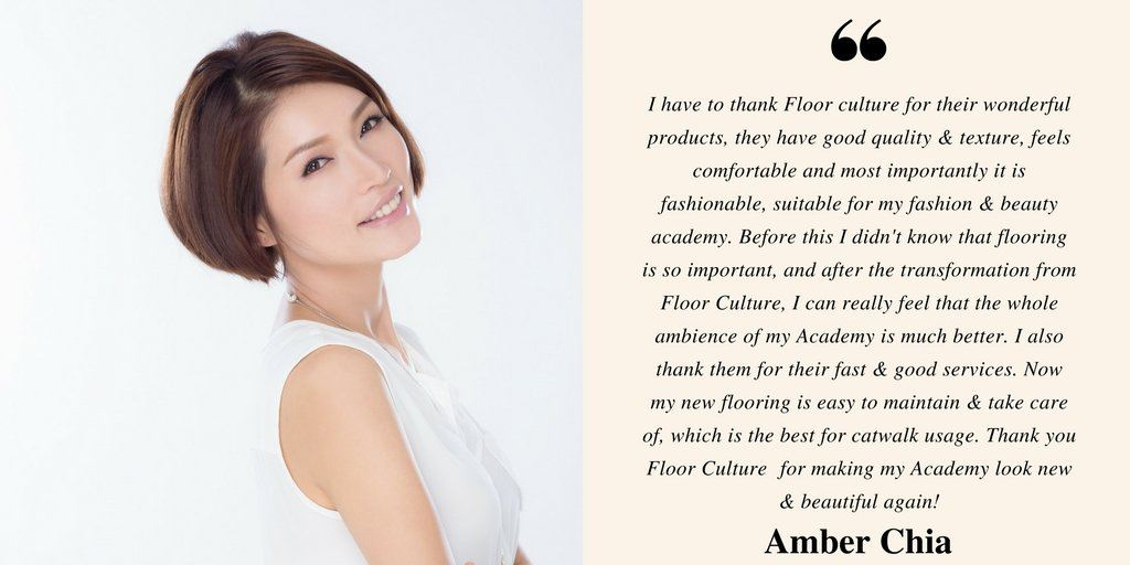 Testimonial from Ms. Amber Chia