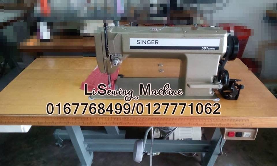 Used Singer sewing machine