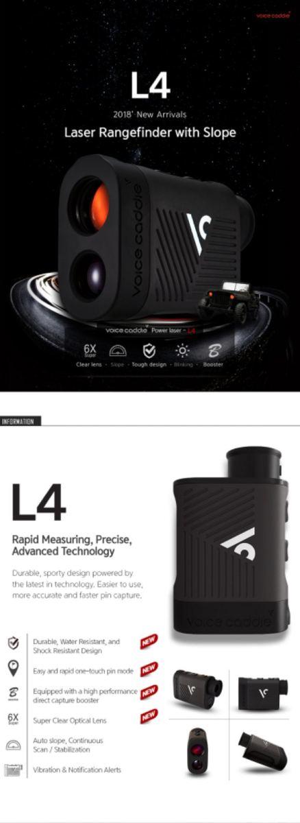 Voice Caddie L4 Laser Rangefinder RM1250