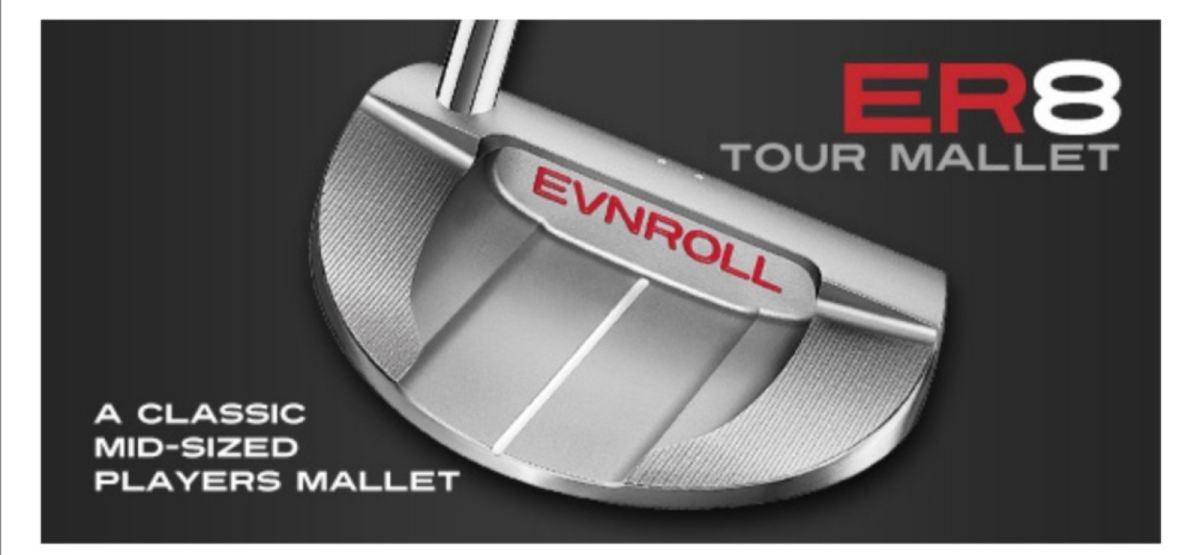 ER8 Tour Mallet Putter....