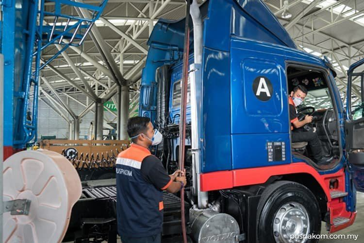 PROVIDE PUSPAKOM INSPECTION LORRY SERVICE