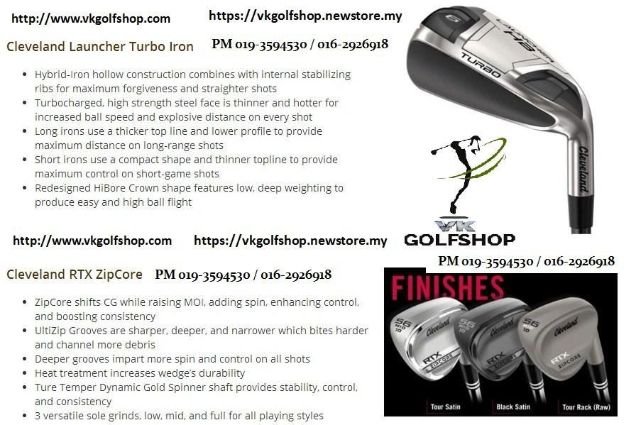 Whats your PICK? Pick both of them in your Golf Bag and Golf Game!!!