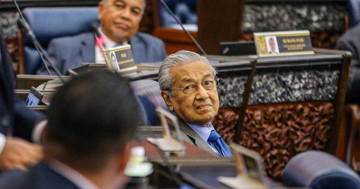 Dr Mahathir, 4 others file no-confidence motion against Muhyiddin