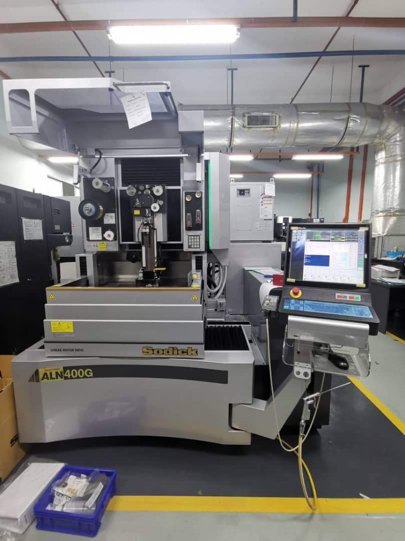 3 units Sodick ALN400G delivered to precision part maker at Johor