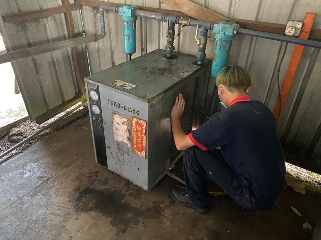 Service 30 HP JENN DONG Air Dryer