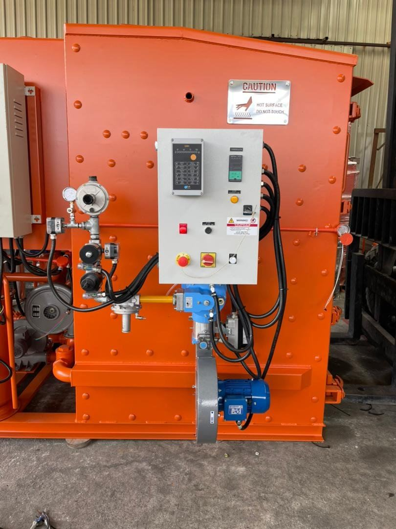 Our Latest Installation of Santin MXS Burner for Clinical Waste Incineration System