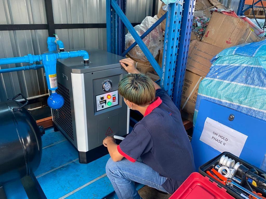 Service 10 HP AC Air Dryer AC-10HP