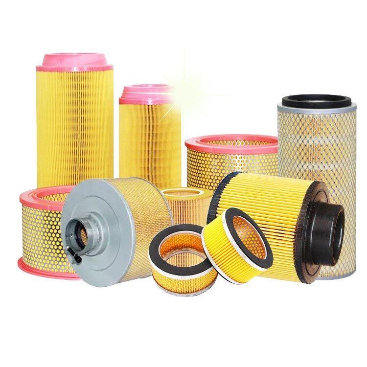 Air Filter for Hitachi, Kobelco, Atlas Copco, Ingersoll-Rand, Kaeser, Alup, Almig, Boge, Compair, Rotacomp, Aicomp, Renner & etcs.