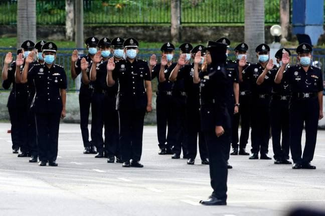 Police announce transfer of 12 senior officers