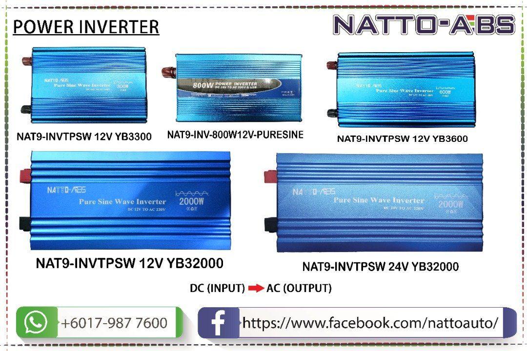Power Inverter (DC input - AC Output)