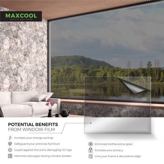 POTENTIAL BENEFITS FROM WINDOW FILM