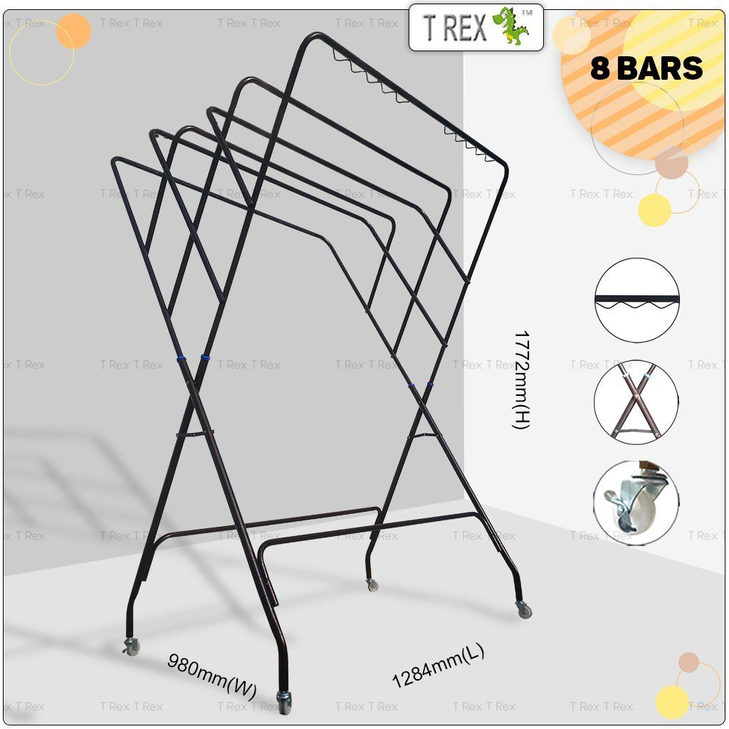 Clothes Hanger Drying Rack