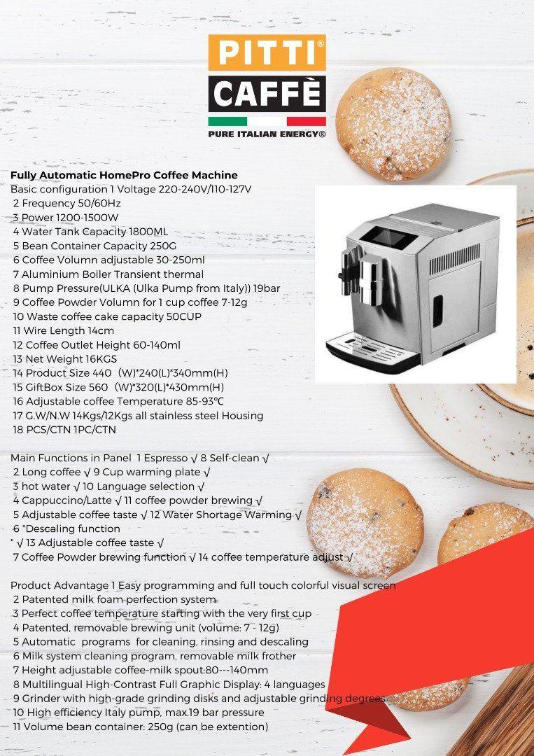Coffee Machine Rental - Home use coffee machine Promotion