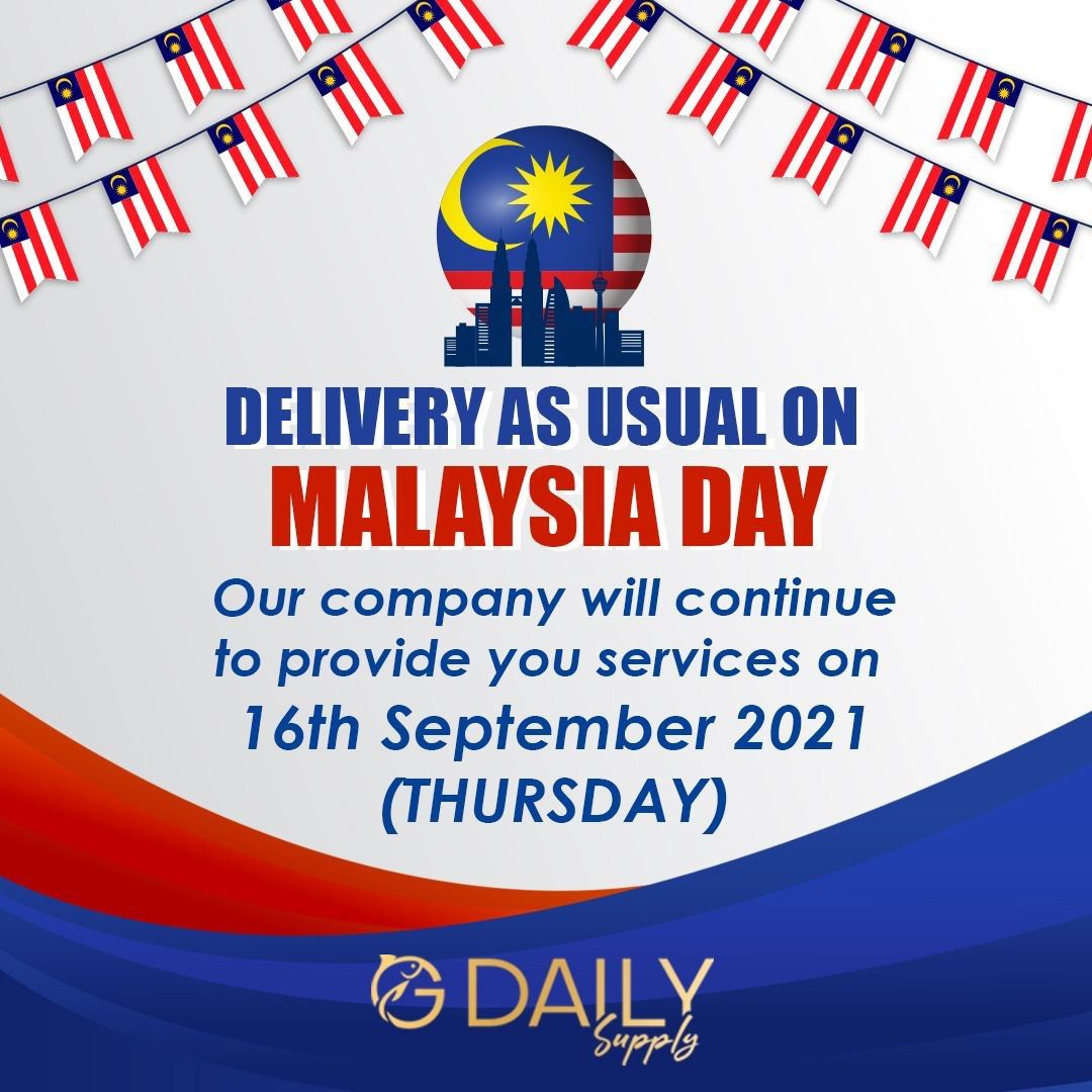 Malaysia Day - Deliver As Usual
