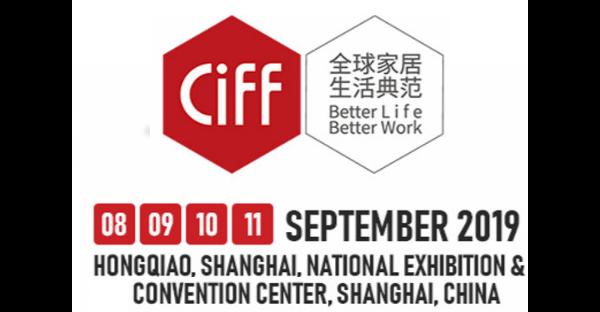 CIFF Shanghai 2019 (September 08, 2019 - September 11, 2019)