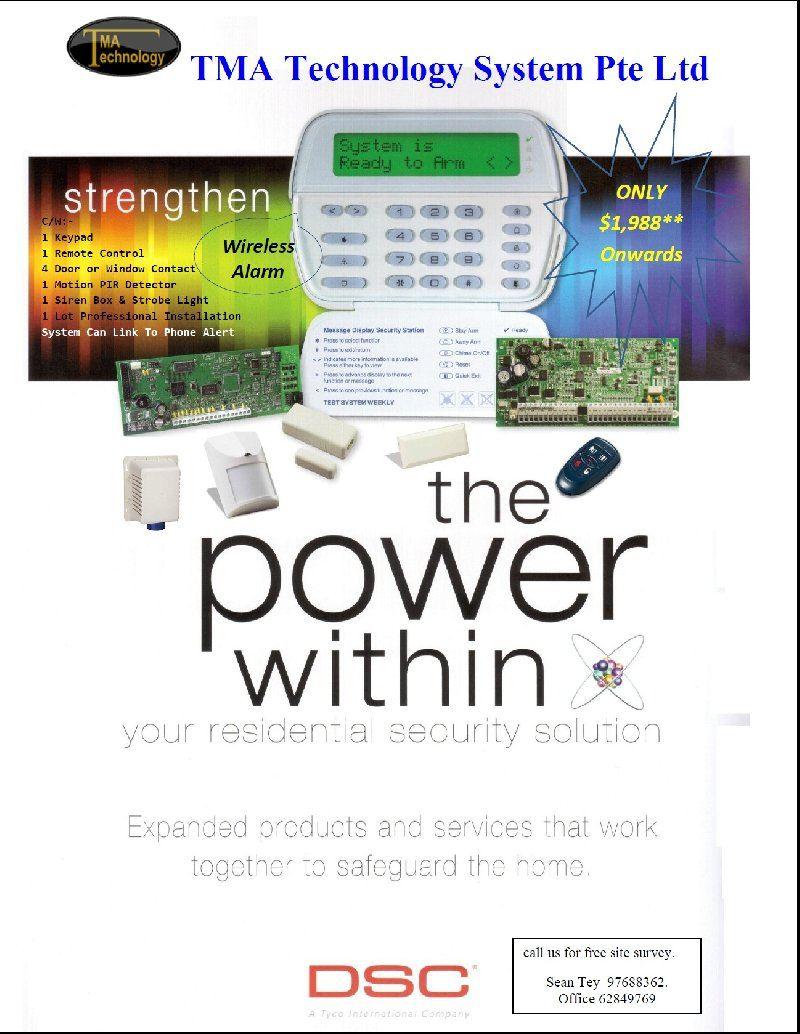 DSC Wireless Alarm System