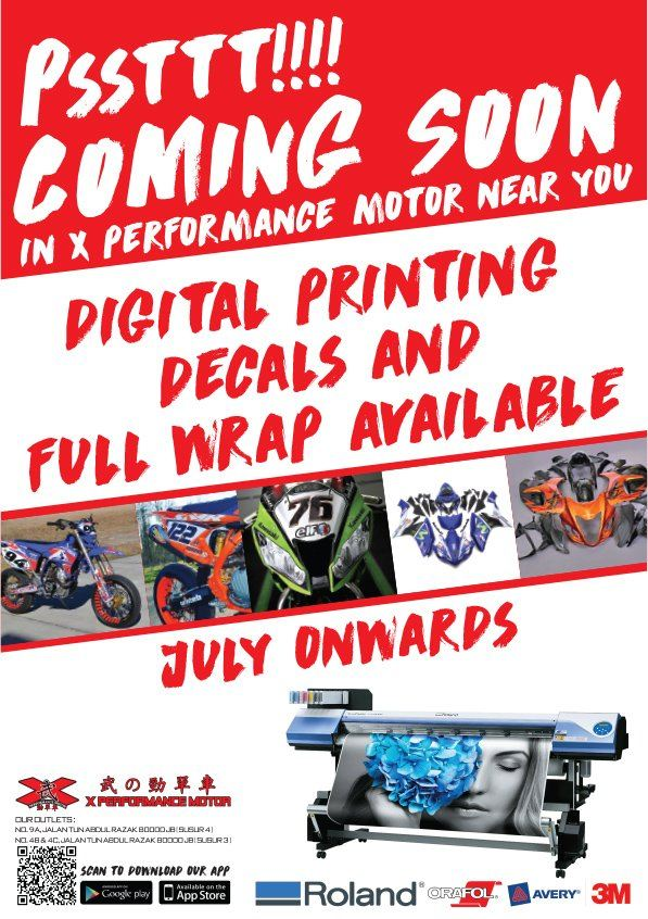 DIGITAL PRINTING DECAL COMING SOON