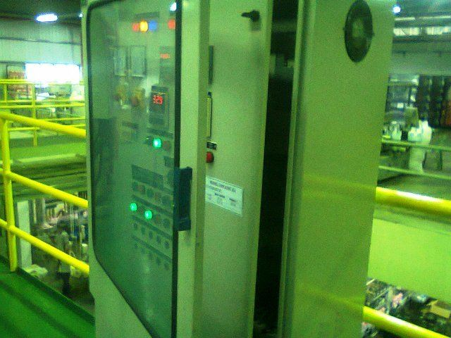 CONTROL PANEL PROJECT MALAYSIA(INCLUDING 2 UNIT SHIMADEN TEMPERATURE CONTROLLER & 2 UNIT DELTA I