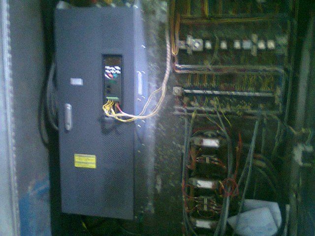 132KW INVERTER INSTALLATION FOR BIG MIXER MACHINE (FOOD INDUSTRY) (PICTURE 2 )