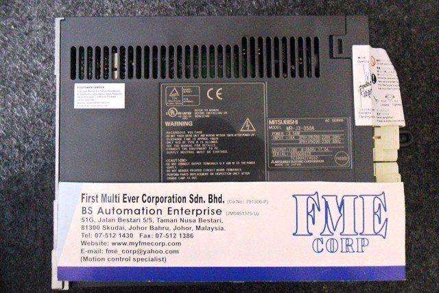 MITSUBISHI Servo Amplifier MR-J3-350A REPAIR IN KUALA TERENGGANU KUATAN SEREMBAN MELAKA IPOH