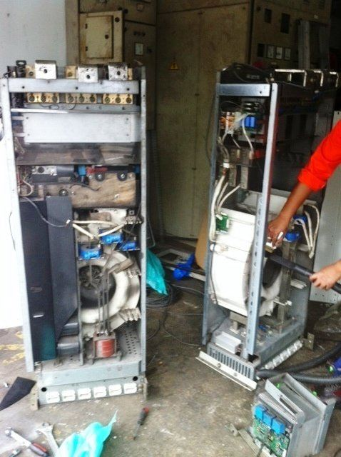 ABB INVERTER ACS800 400KW REPAIR AND SERVICE IN MALAYSIA