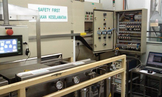 CONTROL PANEL COMPLETE WITH OMRON PLC CX SERIES IN KUCHING,SARAWAK, MALAYSIA