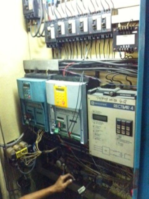 MODIFICATION TELEMECANIQUE RECTIVAR 4 TO EUROTHERM 590 SERIES DC DRIVES IN SARAWAK ,MALAYSIA