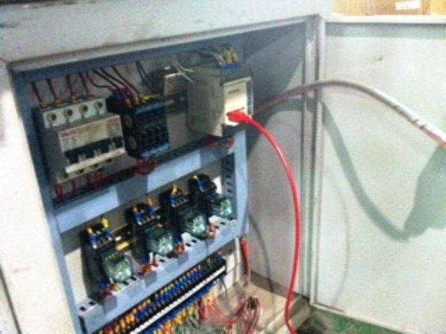 MITSUBISHI PLC MELSEC FX-14MR INSTALLATION AND PROGRAM FOR WIRE MACHINE IN JOHOR MALAYSIA(1)