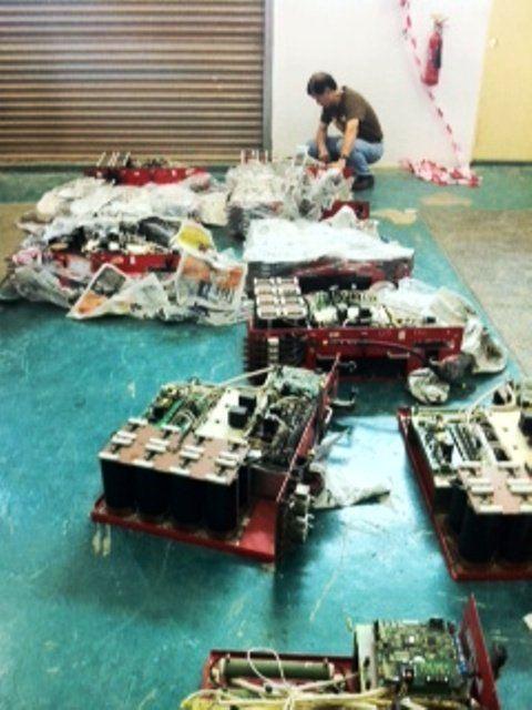 FUJI FRENIC 900KW 6.6KV HIGH TENSION INVERTER REPAIR IN JOHOR BAHRU ,MALAYSIA (PIC 2)