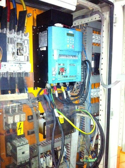 LENZE DC CONTROLLER DRIVE 4800 4900 CONVERT INSTALLATION TO EUROTHERM SSD PARKER MALAYSIA INDONESIA