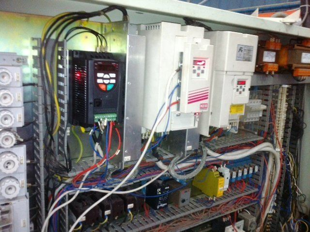 KEB INVERTER F4 REPLACE TO MOGEN MORRIS A8000 FOR COSTA MACHINE MALAYSIA