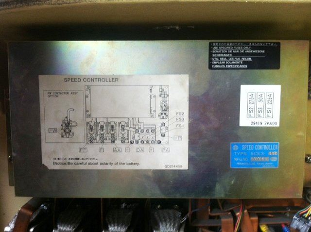 NISSAN CWP02L25S HITACHI DC SPEED CONTROLLER TYPE SCE3- REPAIR IN SABAH SARAWAK MALAYSIA