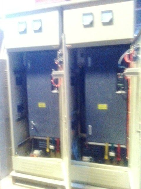 ENERGY SAVING CONTROL PANEL ,INVERTER CONTROL PANEL FOR 160KW MOTOR PROJECT IN JOHOR MALAYSIA