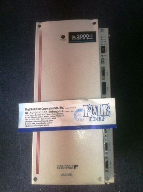 RELIANCE ELECTRIC BL3000G UBLC3403 UBL3407 UBLC3422 UBLC3430 UBLC3437 UBLC3455 UBLC341AG MALAYSIA