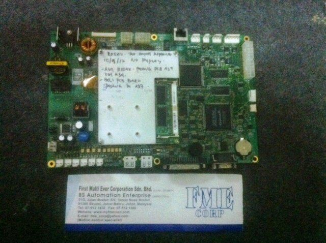 JSW INJECTION MACHINE CPU BOARDS PCB BOARD JSW CPU-71 JCB03812 REPAIR MALAYSIA INDONESIA