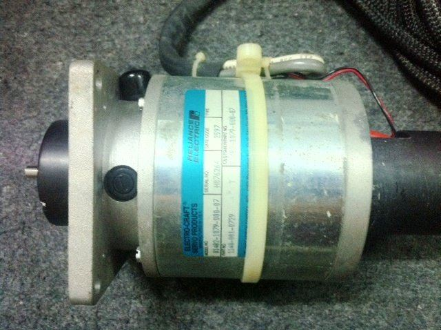 RELIANCE ELECTRIC ELECTRO-CRAFT SERVO PRODUCTS SERVO MOTOR 01482-1079-000-07
