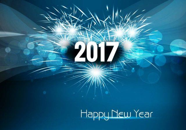 Wishing you a Happy New Year 2017! We hope it's your best year ever !