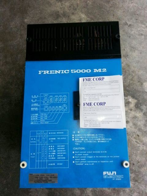 FUJI ELECTRIC FRENIC 5000 M2 REPAIR MALAYSIA JAKARTA INDONESIA SINGAPORE THAILAND