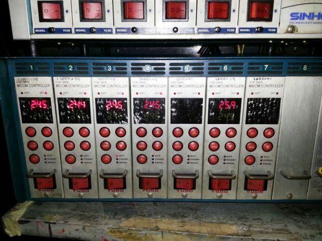 YUDO HOT RUNNER TEMPERATURE CONTROLLER  CGF-560S MICOM CONTROLLER REPAIR MALAYSIA INDONESIA SINGAPOR
