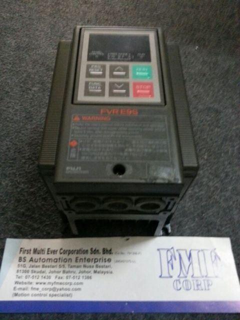FUJI ELECTRIC INVERTER FVR.E9S FVR0.75E9S-4 FVR1.5E9S-4 FVR2.2E9S-4 REPAIR MALAYSIA INDONESIA