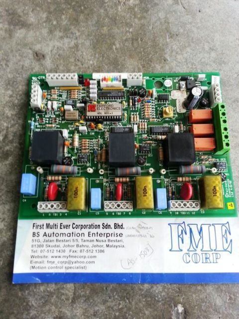 MOELLER SOFTPACT SOFT STARTER 6200x4 FAIRFORD ELECTRONIC PCB BOARD INDONESIA MALAYSIA SINGAPORE