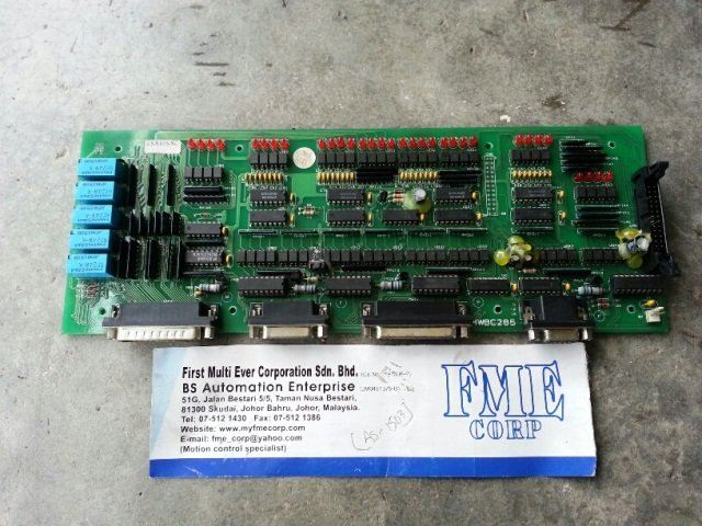 INJECTION MOULDING MACHINE PCB BOARD MT750 HWBC285 HPCUEI HPC-UEI04428 REPAIR MALAYSIA INDONESIA
