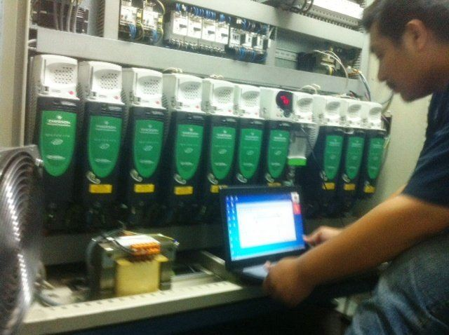 CONTROL TECHNIQUES EMERSON INDUSTRIAL AUTOMATION UNIDRIVE SP SERVO PROJECTS IN JOHOR BAHRU MALAYSIA