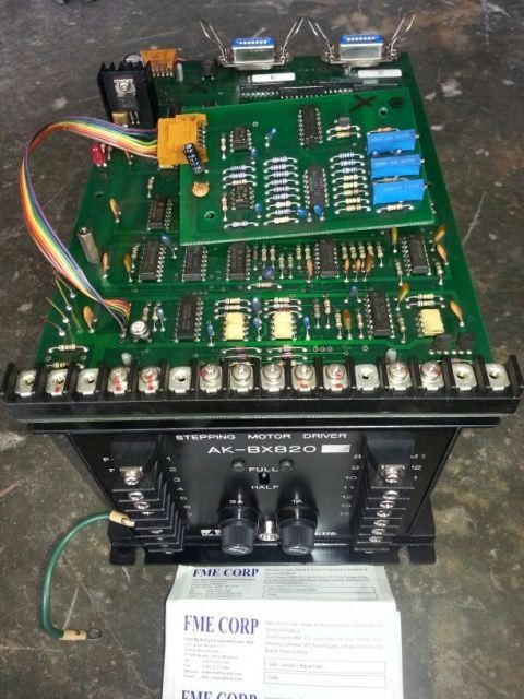 STEPPING MOTOR DRIVER AK-BX820 REPAIR MALAYSIA INDONESIA SINGAPORE